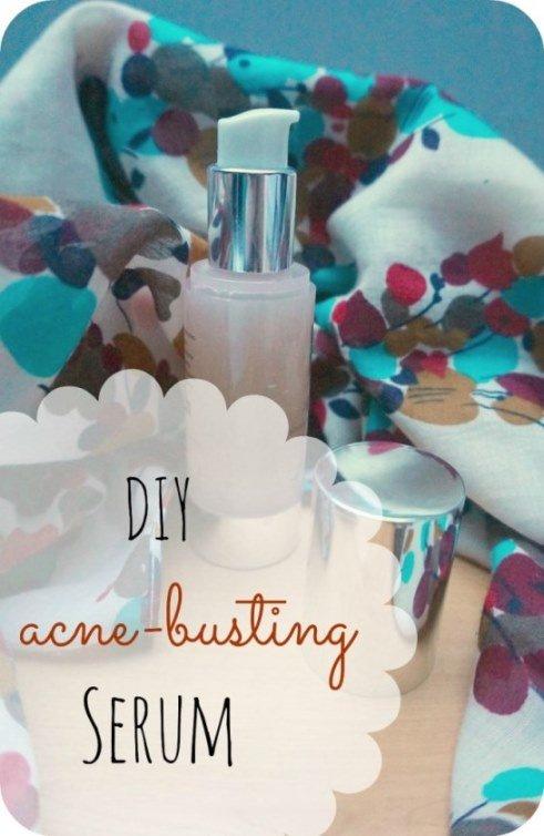 DIY Acne-busting, Balancing 'Good Night' Serum