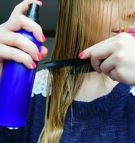 DIY All Natural Hair Detangler Spray