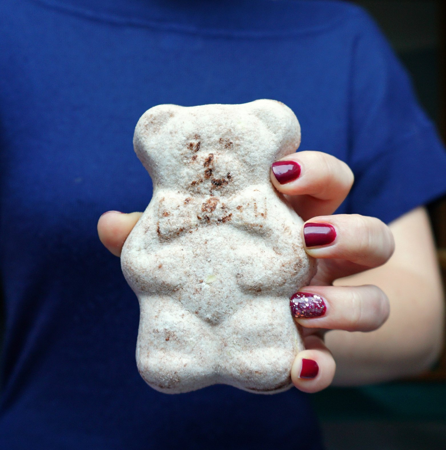 DIY Cocoa Bear Bath Bombs