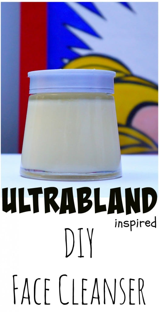 Tutorial on How To make your own copycat Easy DIY Ultrabland LUSH Face Cleanser dupe from The Makeup Dummy
