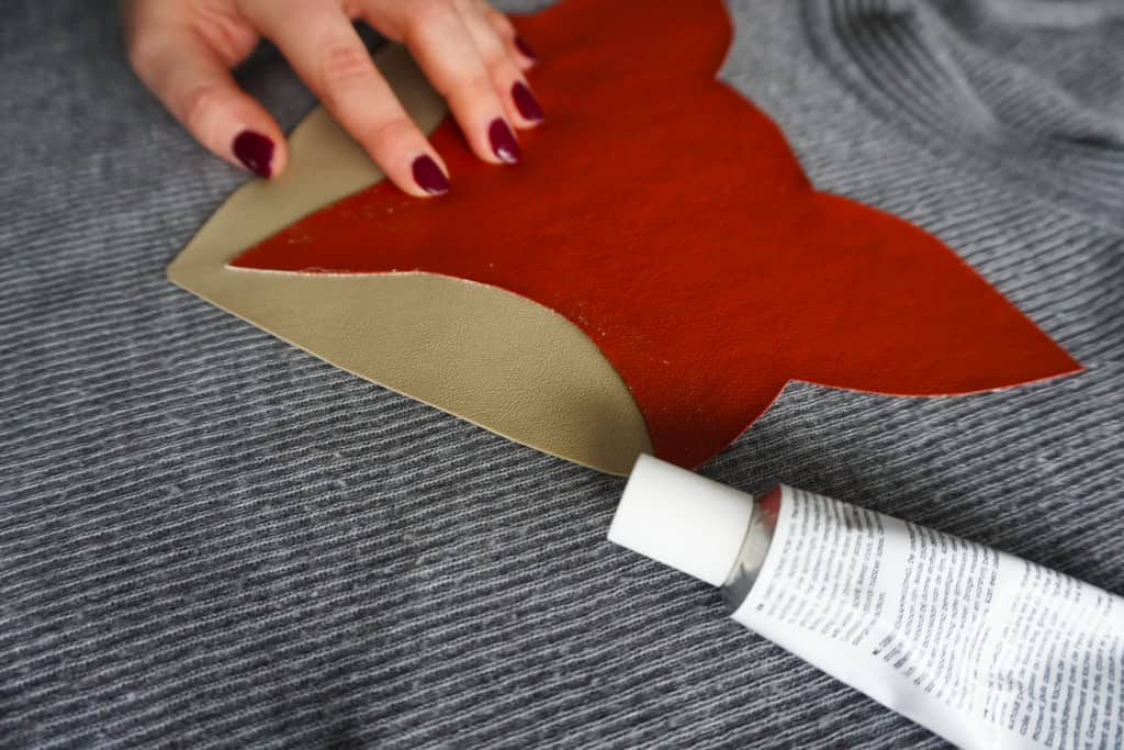 How to make your own Fox Print Sweater tutorial | DIY by The Makeup Dummy