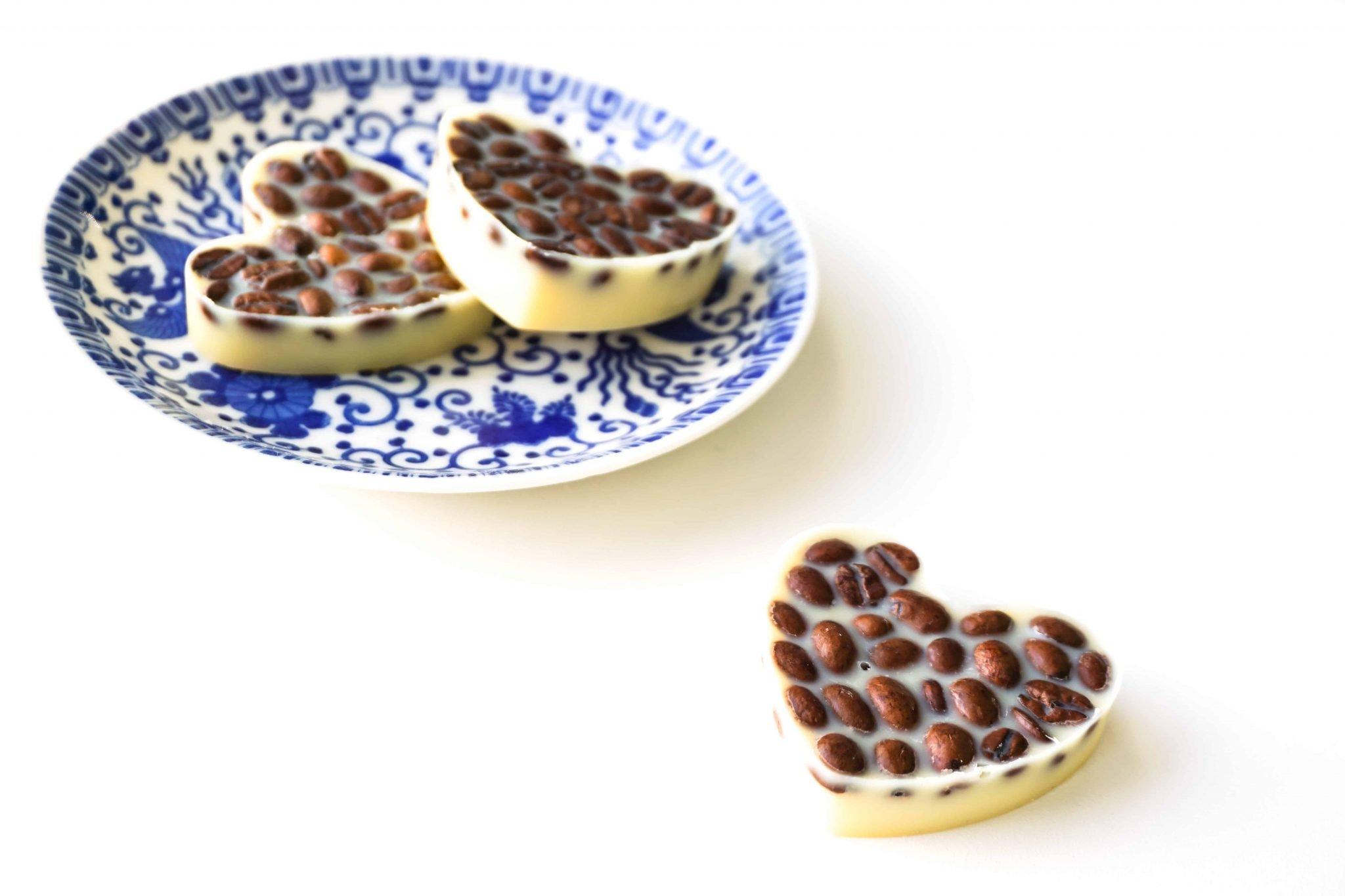 DIY Vanilla Latte Coffee Lotion Bars