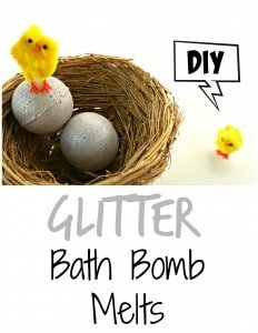 Easter tutorial idea - How to make your own glitter bath bomb melts inspired by LUSH Golden Egg | DIY by The Makeup Dummy