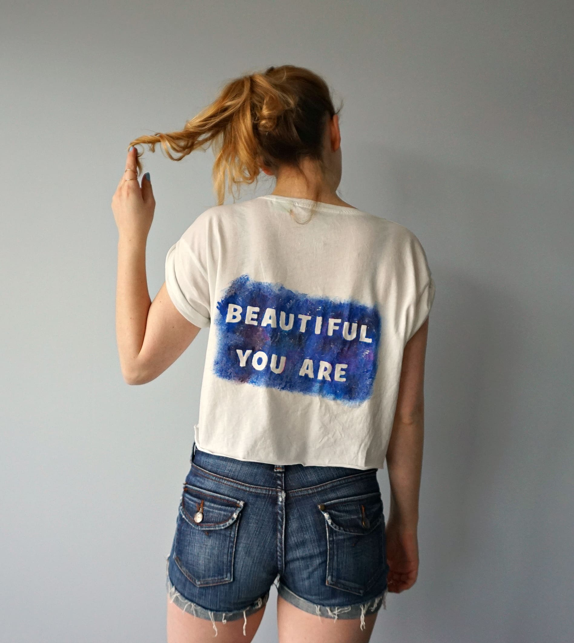 How To Tutorial Galaxy Quote Shirt for Star Wars Day | DIY by The Makeup Dummy