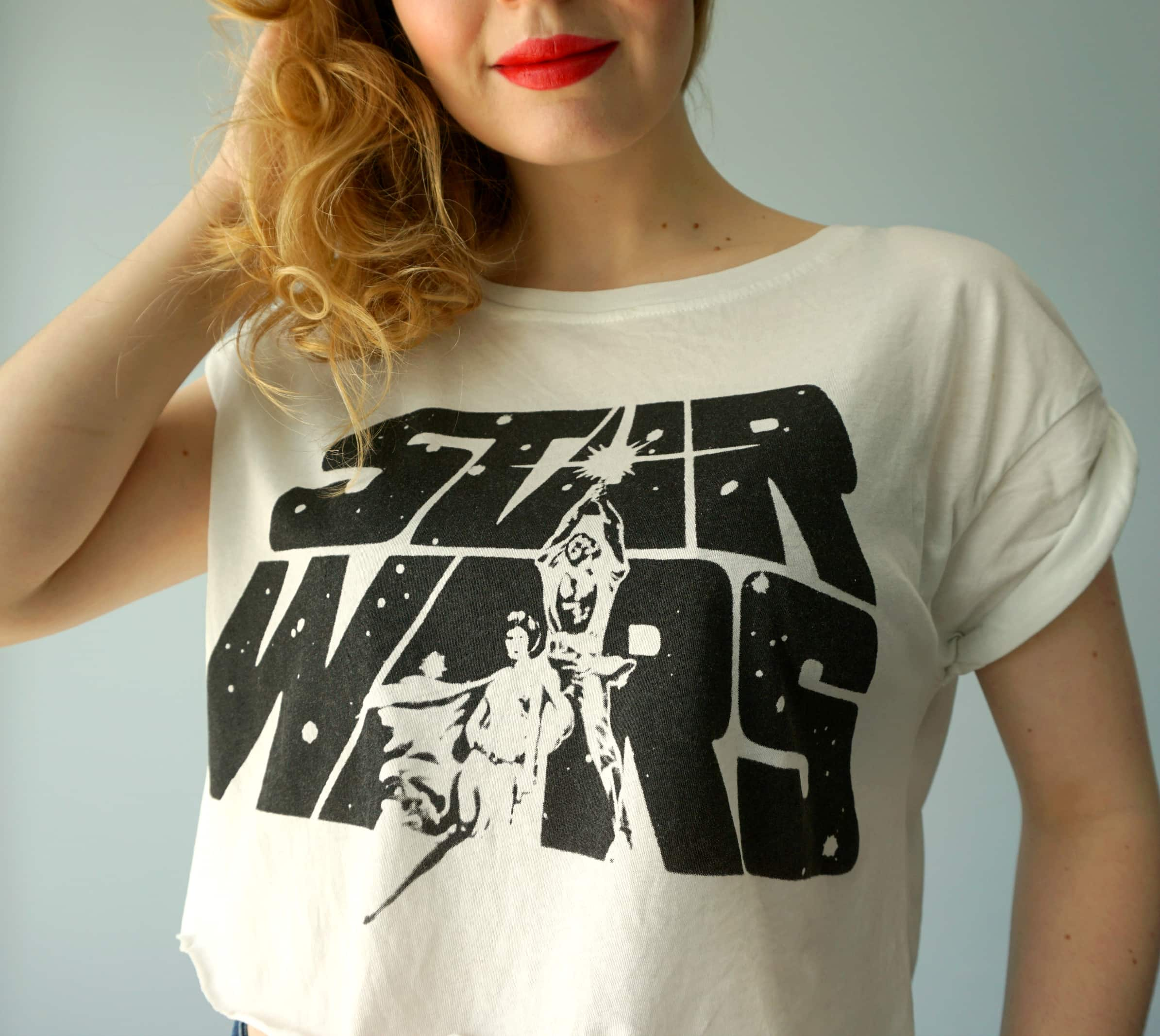 Star Wars Print Shirt DIY   Tutorial by The Makeup Dummy