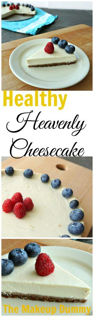 how to make healthy cheesecake
