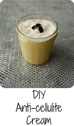 DIY Anti Cellulite Cream