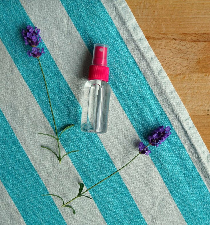DIY Lavender Room Spray for Mosquito free Sleep