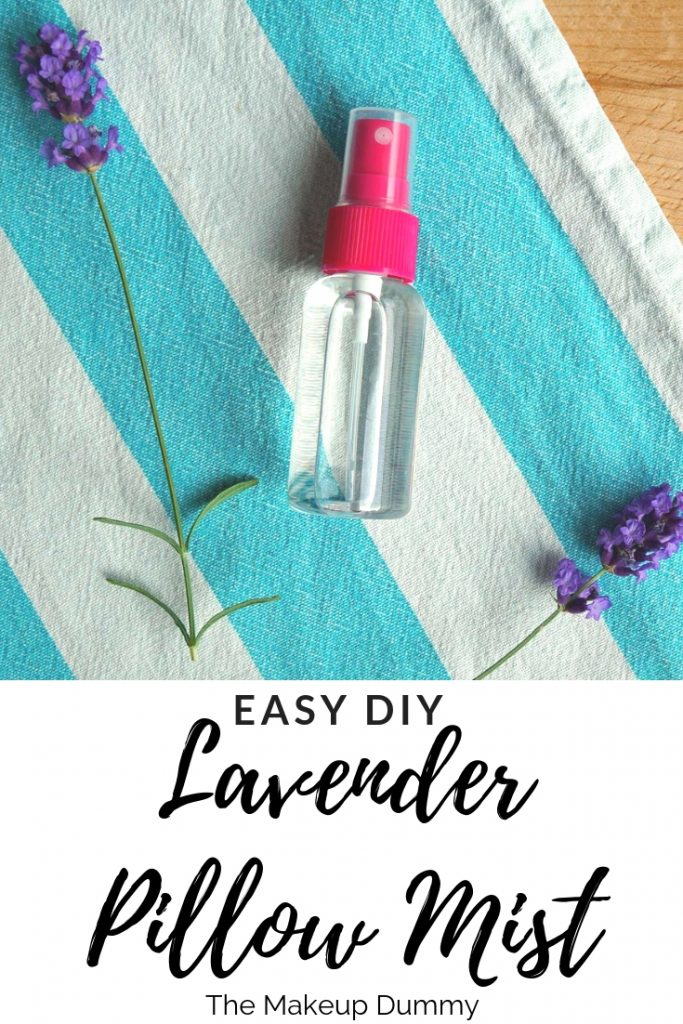 How To make your own easy anti mosquito spray to keep those pesky bugs away. PS it doubles as a Good Night Sleep Lavender Pillow Mist! DIY by The Makeup Dummy