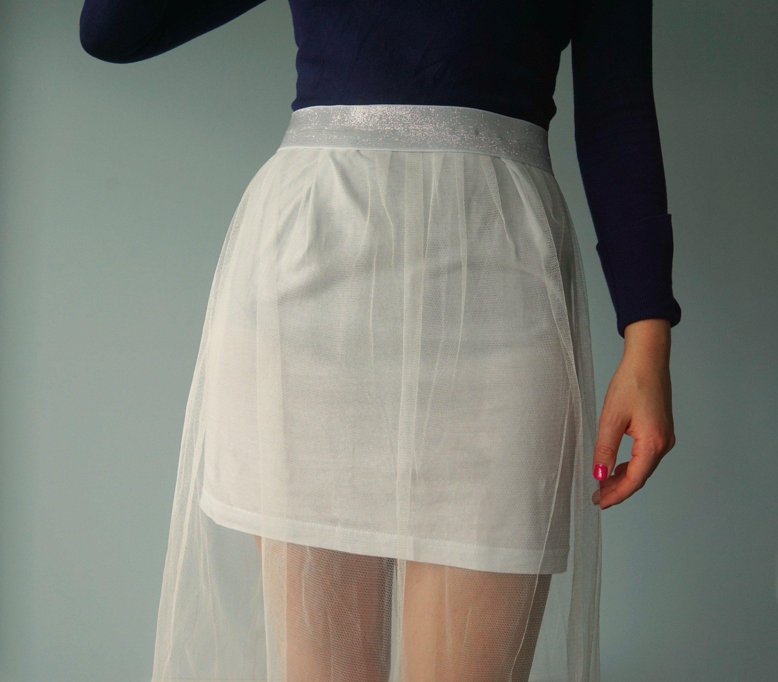 DIY Long Tulle Skirt {no math involved}