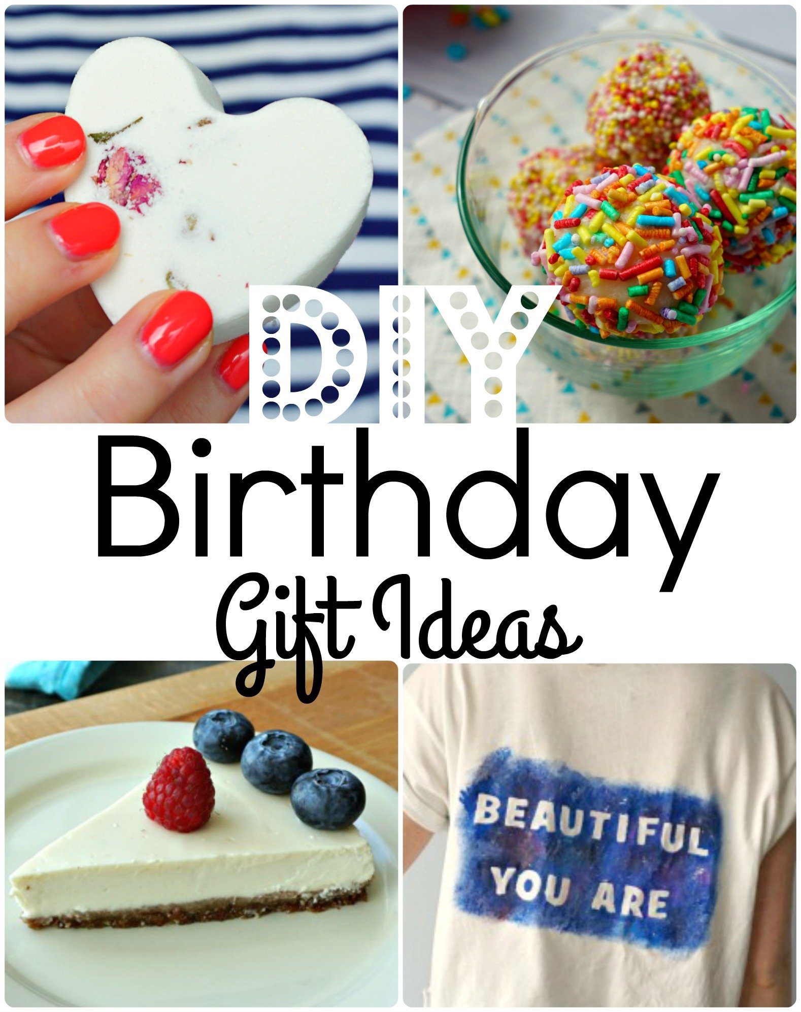 7 Easy DIY Birthday Gift Ideas Anyone Would Enjoy How To Tutorials By The Makeup