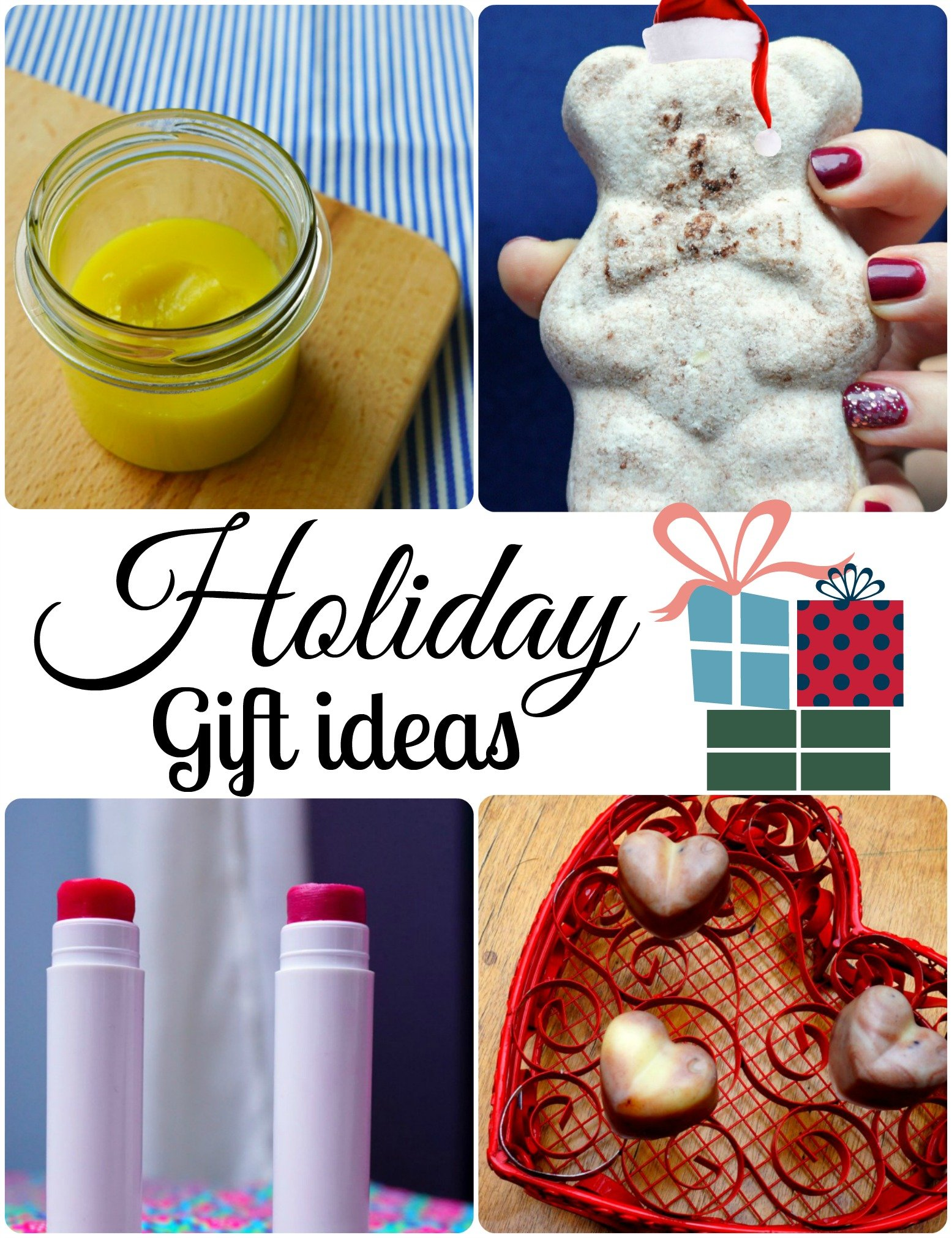 Easy DIY Holiday gift ideas (aka great stocking stuffers!)