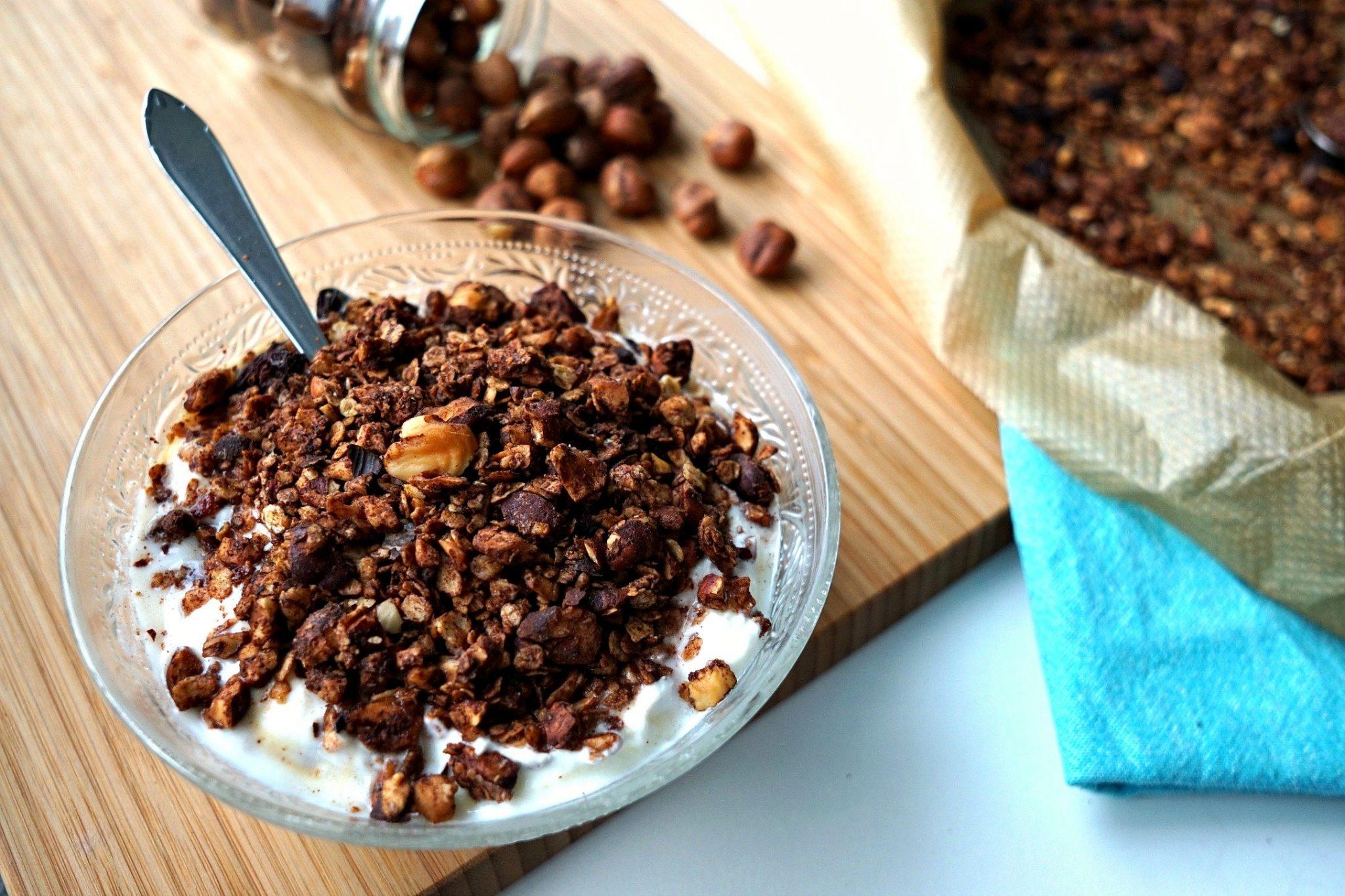"""Healthy """"Nutella"""" Granola recipe"""