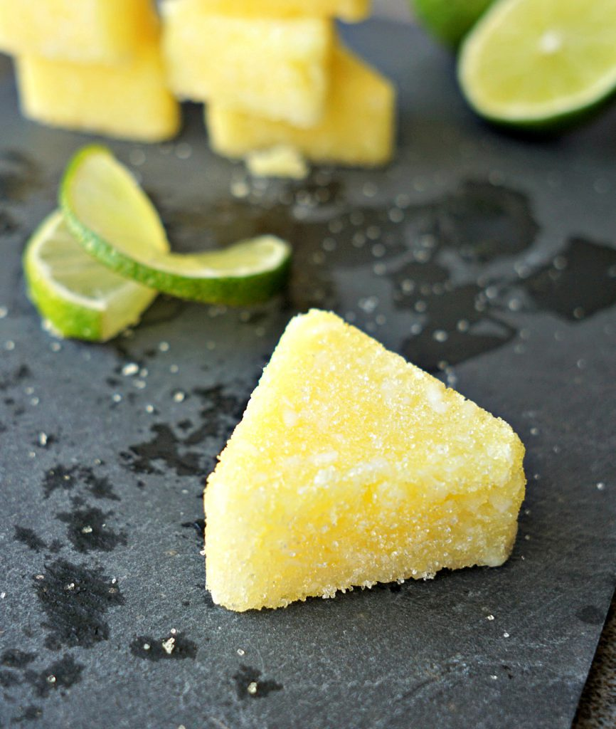 These sugar scrub bars smell amazing! DIY Key Lime Pie Sugar Scrub Bars! How To Tutorial by The Makeup Dummy