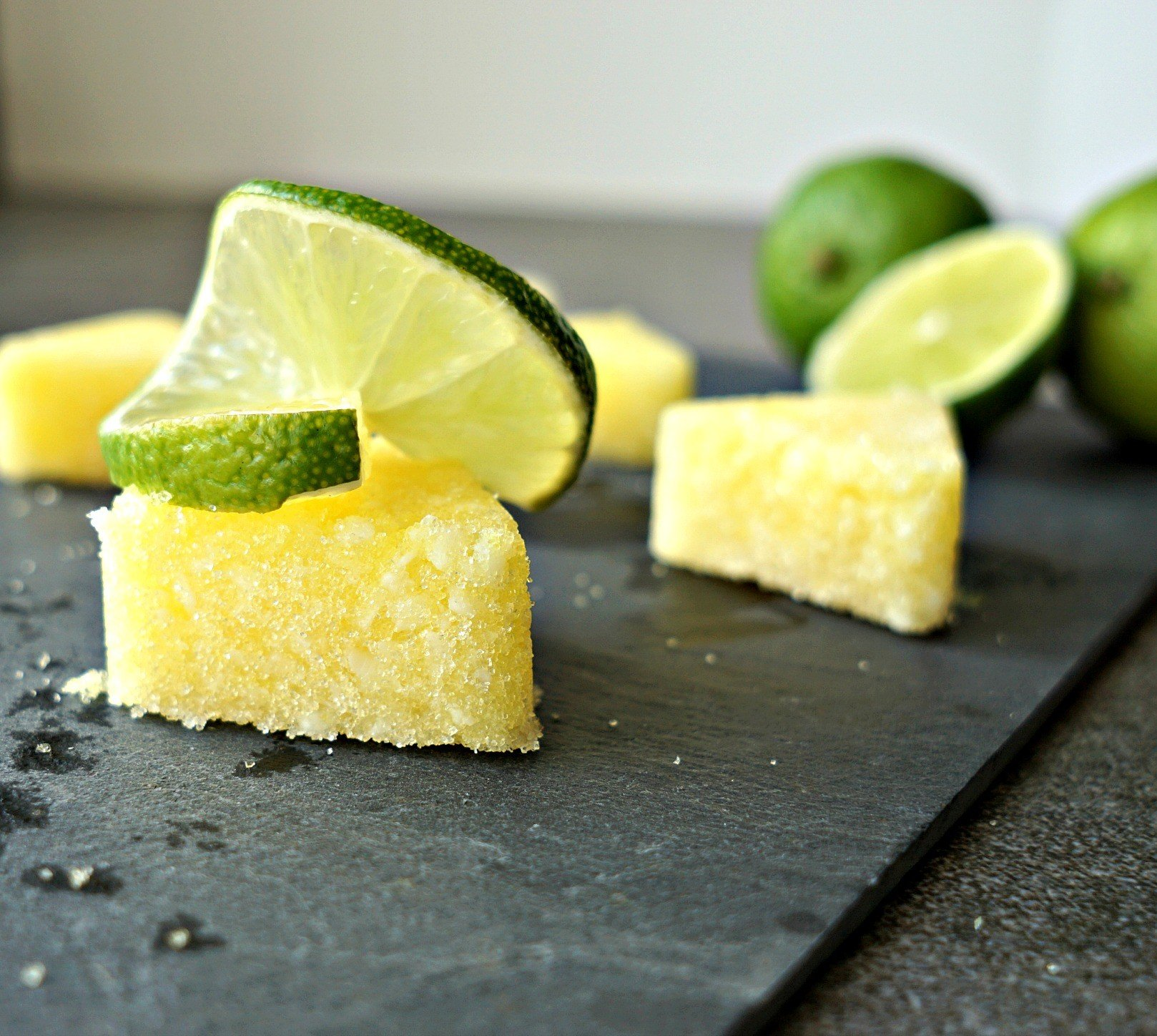 DIY Key Lime Pie Scrub Bars