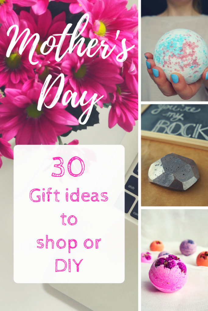 This list is AMAZING! DIY Gift Ideas for Mother's Day Gift: craft ideas and what tot buy - Gift guide by The Makeup Dummy
