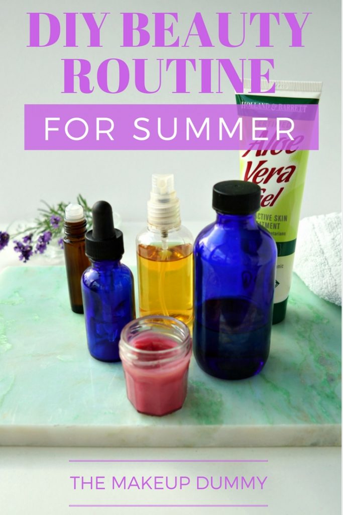 How To make your own Natural DIY Beauty Essentials for your skin care routine this Summer. Guide by The Makeup Dummy