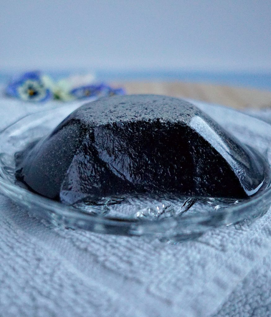 A cheap and easy DIY LUSH dupe for Jelly Face Masks! How To make your own copycat Charcoal Jello Face Mask. Tutorial by The Makeup Dummy