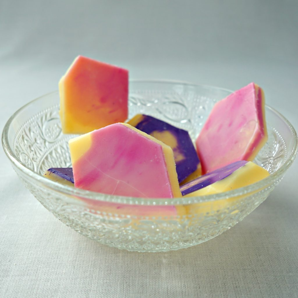 WOW these look amazing! How To make gemstone lotion massage bars tutorial   DIY by The Makeup Dummy