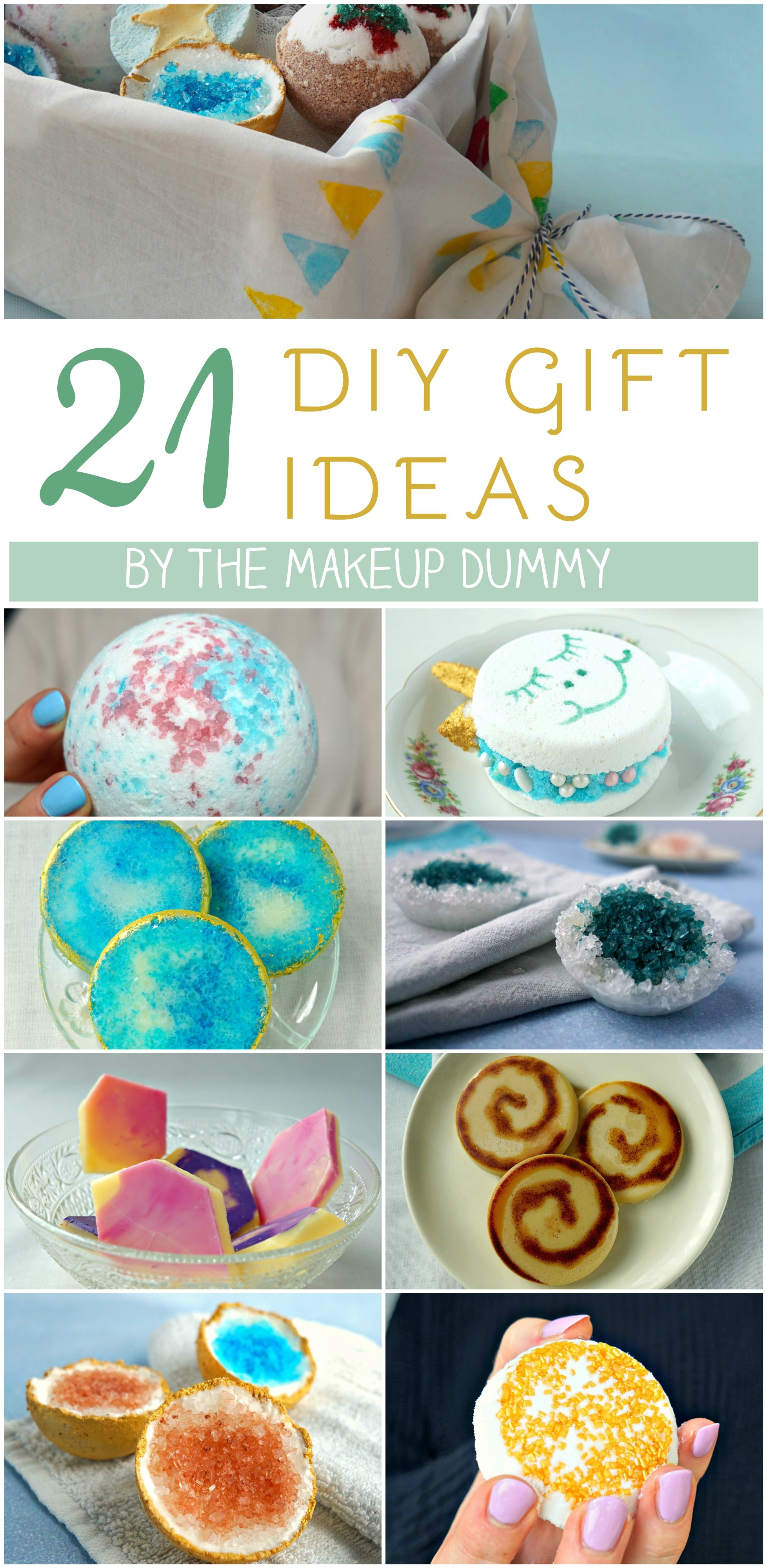 21 DIY Christmas Gift Ideas to make by The Makeup Dummy #diygifts #christmas