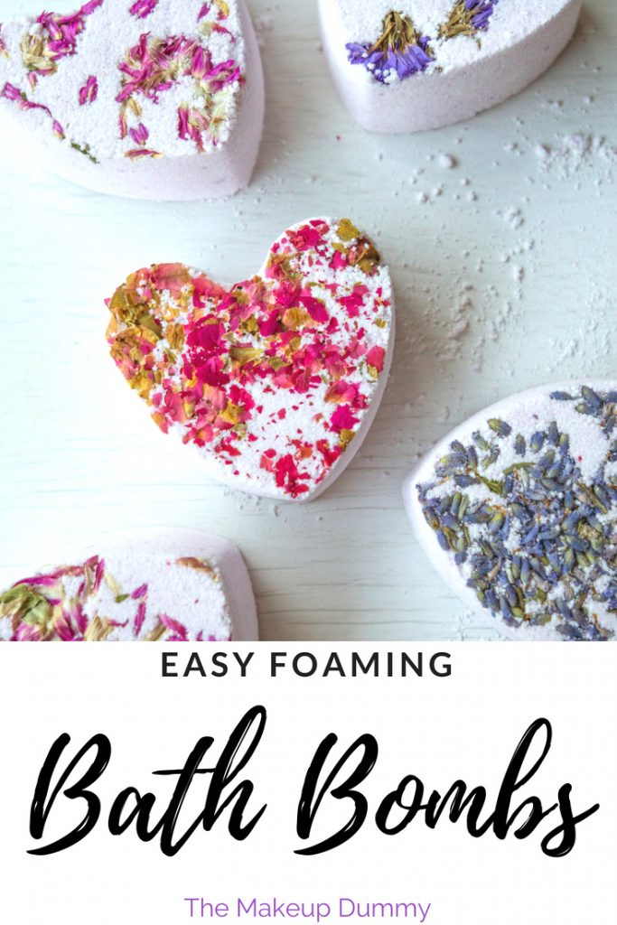 THESE BATH BOMBS FIZZ AND FOAM!! How To Make Foaming Bath Bombs inspired by Lush! DIY copycat dupe tutorial by The Makeup Dummy #diybathbombs #diybeauty #naturalbeauty