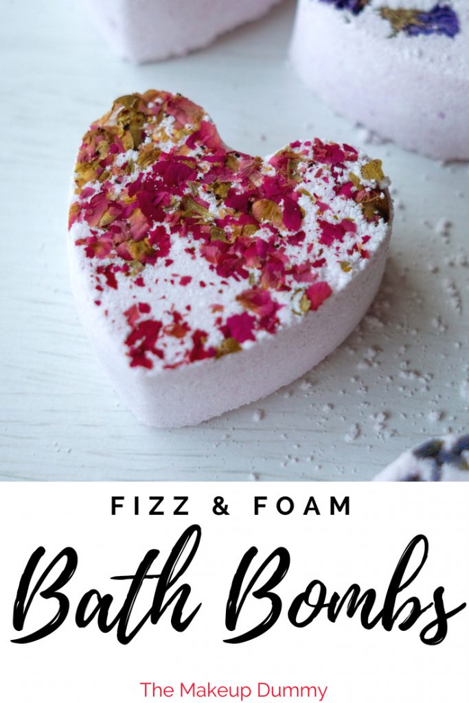 THESE BATH BOMBS FIZZ AND FOAM!! How To Make Foaming Bath Bombs inspired by Lush! DIY copycat dupe tutorial by The Makeup Dummy