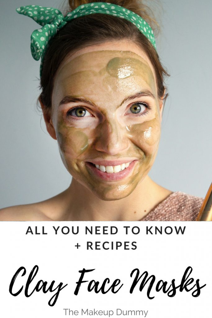 How to Make a Clay Face Mask for your skin type + 3 recipes