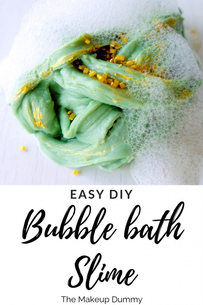 How to Make Slime with Bubble Bath and other easy, common household ingredients. Follow this easy step by step DIY tutorial for homemade slime!