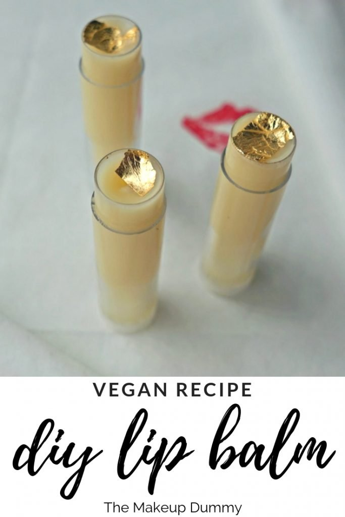 DIY Tutorial to make a Lip Balm using only vegan, cruelty free products! Easy recipe by The Makeup Dummy