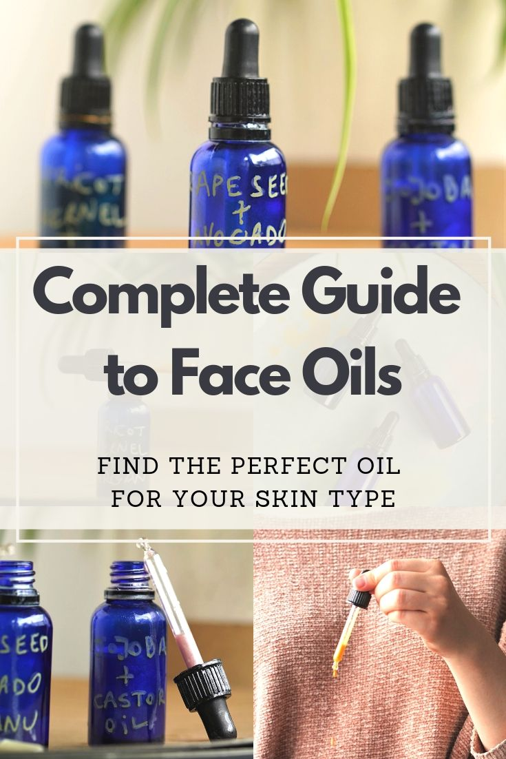 With this easy DIY formula tutorial you can make your own custom carrier oil facial blend at home! This simple and complete carrier oil guide helps you choose the best carrier oils for your skin type, whether you have dry, very dry, oily or combination skin. It\'s affordable (cheaper than store bought moisturizers), vegan, plantbased and all natural. #diybeauty #homemadebeauty #nontoxicbeauty #essentialoils #naturalbeauty #naturalskincare #veganskincare #veganmakeup #plantbased #vegan #plantb...