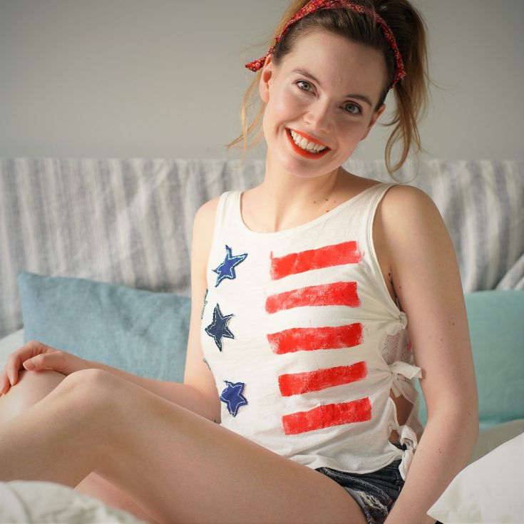 DIY 4th of July Shirt for Adults or Teens