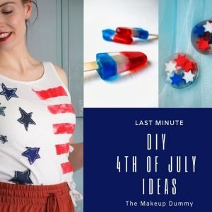 Looking for a last minute 4th of July outift? This easy step by step tutorial explains how to make your own DIY 4th of July Shirt with upcycled and recycled materials for your best Fourth of July party yet! #4thofjuly #4thofjulycrafts #4thofjulyshirts