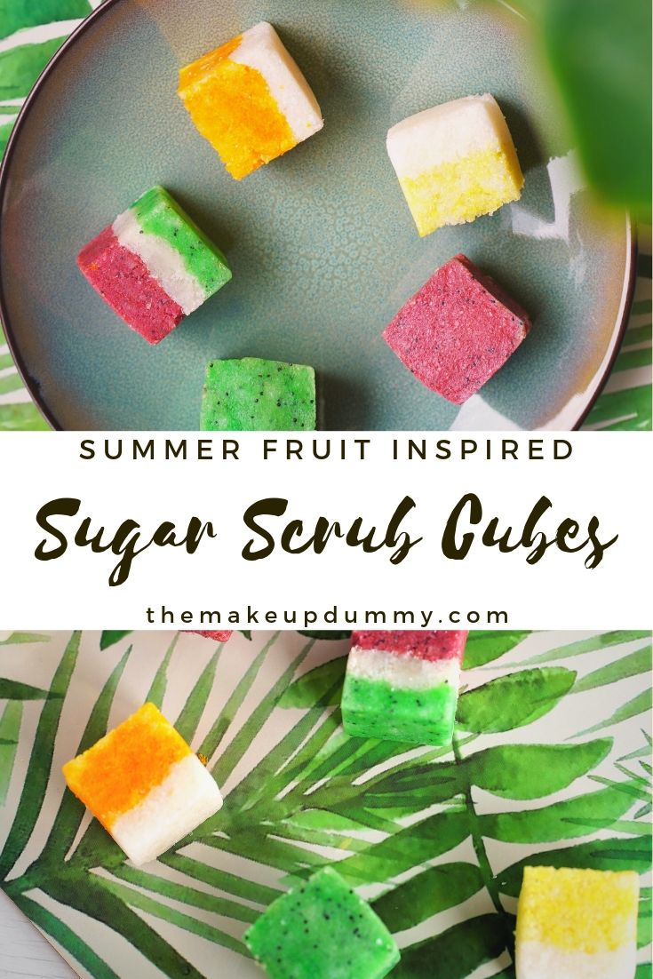 DIY Sugar Scrub inspired by Summer fruit