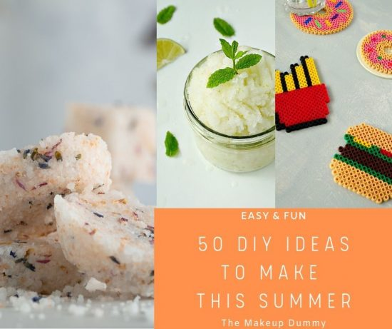 50 Creative and Fun DIY Beauty and Craft Tutorials to make this Summer for adults, teens and kids