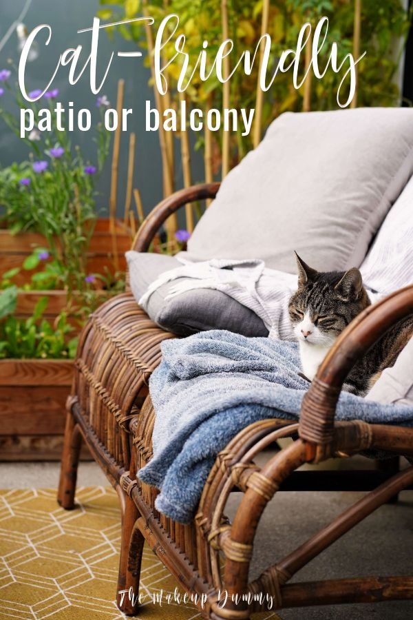 Turn your patio or balcony outdoor space into a safe have for your pets, like small dogs and cats. With these 12 must-haves you know you have everything you need to transform a boring terrace into a fun and cozy environment for you and your beloved pet!