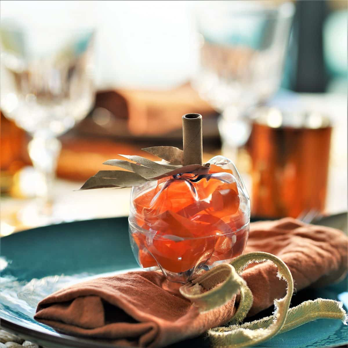 DIY Pumpkins: Reuse Plastic Bottles for Fall Decor
