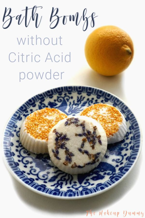 Diy Bath Bombs Without Citric Acid Or Cream Of Tartar Video Tutorial The Makeup Dummy