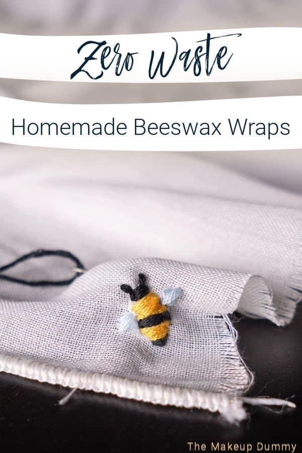 Make your own zero waste beeswax wraps at home with just a few simple items.