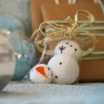DIY Frozen Snowman Bath Bombs