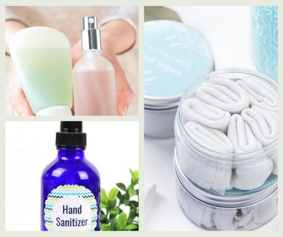 5 homemade hand sanitizers that follow CDC and WHO guidelines to make your own alcohol-based hand rub at home with easy household items.